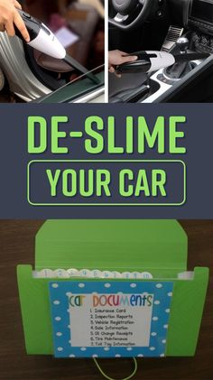 23 Ways To Clean Up and Organize Your Embarrassment Of A Car
