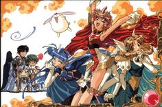 Tags: Anime, Magic Knight Rayearth, Shidou Hikaru, Ryuuzaki Umi, Hououji Fuu