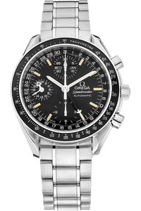 PRE-OWNED OMEGA Stainless Steel Speedmaster Day-Date Automatic