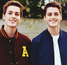 Jack and Finn Harries...good looking doesnt even cut it