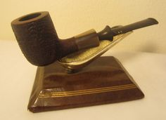 Savinelli Nonpareil Sandblast Straight Billiard 9128 Estate Briar Tobacco Pipe
