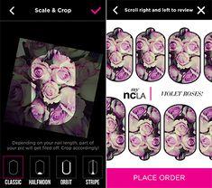 Nail ideas: myNCLA custom nail stickers!