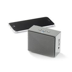 Amazon | Amazonベーシック ポータブルBluetoothスピーカーミニ グレー iPhone、iPod、iPad、Android搭載スマートフォン対応 | 家電&カメラ オンライン通販
