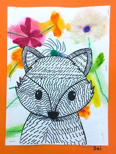2nd grade art lessons – Art with Mrs Filmore First Grade Art, Third Grade, Fox Drawing, Value In Art, Winter Art Projects, Drawing Templates, Kindergarten Art, Spring Art, Art Lessons Elementary