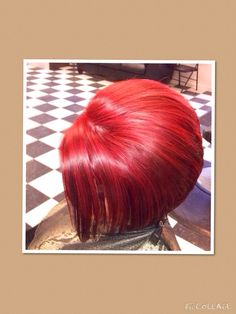 Bold Red Hair Color