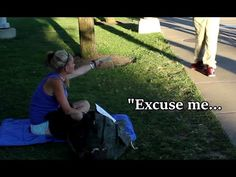 Homeless Woman Does Amazing Act!! - YouTube