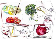 excellent sketchbook site