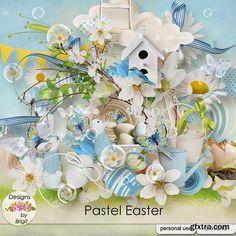 Scrap-kit Pastel Easter