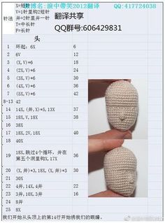 Nose Shaping For Amigurumi Cro Though Not An English Tutorial, This Written Pattern Will Be Helpful When I Want To Create A Shapely Face.The Band Amigurumi Crochet Boys Buzztmz - Diy Crafts - DIY & Crafts Crochet Doll Pattern, Crochet Patterns Amigurumi, Amigurumi Doll, Crochet Dolls, Crochet For Boys, Cute Crochet, Afghan Patterns, Doll Patterns, Nose Shapes