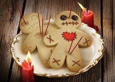 Voodoo doll cookies!