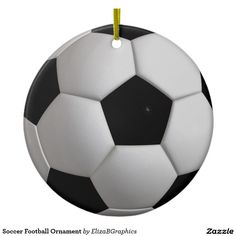#soccer #football #ornament #Christmas