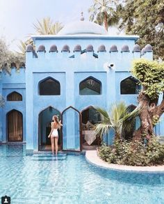 Hotel Es Saadi in Marrakech. One of the best hotels in Morocco