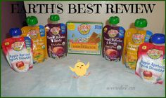 Earth's Best Review  http://wemake7.com/earths-best-organic-baby-food-review/