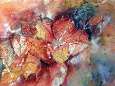 Adriana Buggino - Colori d'autunno  Dimensioni: 56x38 Anno: 2013 Acquarello  Figurativo