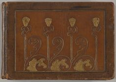 Album with Designs for Art Nouveau Jewellery ( 1899–1900).   Graphite and gouache by Edgar Gilstrap Simpson (British, 1867–1945 (presumed)).  Images and text courtesy The Met.