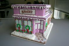 Gingerbread Bakery - GINGERBREAD HOUSE!