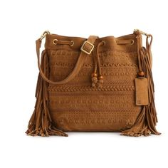 Linea Pelle Bo Mini Bucket Cross Body Bag - I love this style purse, happy to see it is making a come back. #fashion
