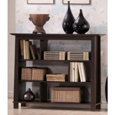 Transitional Home - Havana Bookcase - 36 in. - $210.00    Would be nice as a console table behind a sofa or as entry table    The Foundary