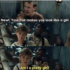Lol yes. You're absolutely stunning, Newt.