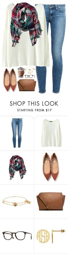 """when love is real, it finds a way."" by kaley-ii ❤ liked on Polyvore featuring Paige Denim, Abercrombie & Fitch, Valentino, Alex and Ani, Michael Kors and Oliver Peoples"
