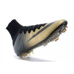 Nike Mercurial Superfly FG Mens Boots - CR7 Golden Black 4fabf90bdb