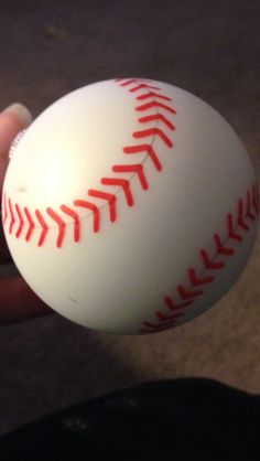 Baseball ornaments painted by hand