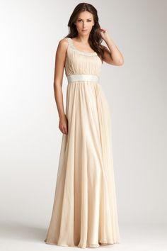 Rhinestone Embelished Gown