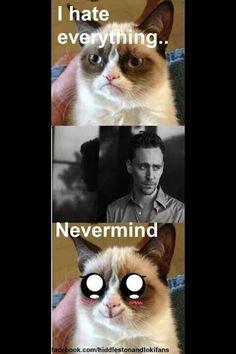 Tom Hiddleston......