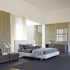 High-Wave Bed by Molteni & C