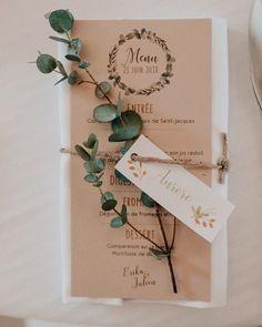 56 Ideas Nature Inspired Wedding Invitations Place Cards For 2019 Wedding Menu, Wedding Themes, Wedding Table, Wedding Favors, Rustic Wedding, Our Wedding, Wedding Planning, Wedding Country, Wedding Flower Arrangements