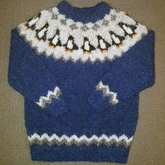 Álafoss - since Icelandic knitting yarn, Icelandic wool sweaters, Icelandic design and souvenirs at a reasonable price - world wide shipping. Knitting Yarn, Baby Knitting, All About Penguins, Wool Sweaters, Christmas Sweaters, Toddlers, Bliss, Free Pattern, Profile