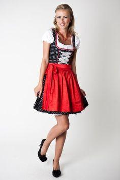 Dirndl Missi, schwarz/rot, Dirndlkleid, Trachtendirndl, Trachtenmode für Damen, Wiesndirndl (36) Ludwig und Therese, http://www.amazon.de/dp/B007OVNRIU/ref=cm_sw_r_pi_dp_kPEosb17JVVSG