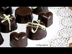 Chocolate Dipped, Muffin, Breakfast, Crochet, Desserts, Recipes, Puddings, Truffles, Finger Foods
