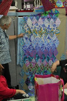 Kaffe Fassett quilt workshop