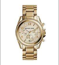 Michael Kors Blair Gold Stainless Steel MK5166 #WomenGlitz Chronograph Watch http://ebay.to/1H6J2WS