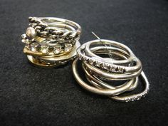 iosselliani Iosselliani, Blog Logo, Silver Rings, Punk, Jewels, Crafts, Accessories, Manualidades, Jewerly