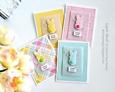 Easter - Homemade Cards, Rubber Stamp Art, & Paper Crafts - Splitcoaststampers.com