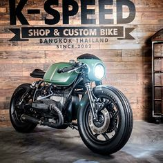 Awesome BMW R80 Cafe Racer by K-Speed