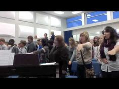 """▶ Concert Choir Warm-Up - YouTube half way through """"biddy, biddy"""" warm up would be fun for elementary students"""