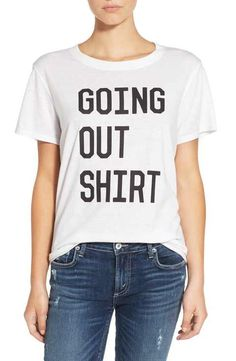 Sub_Urban Riot 'Going Out Shirt' Short Sleeve Tee