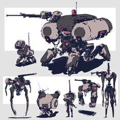 Game Character Design, Character Concept, Robots Characters, Arte Robot, Robot Concept Art, Drawing Poses, Lego Creations, Shape Design, Art Inspo