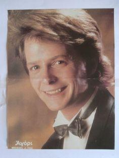 Michael J Fox Duran Mini Poster from Greek Magazines clippings 1970s 1990s   eBay