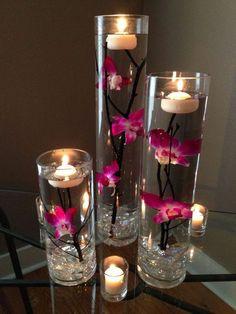 32 best diy candle centerpieces wedding images in 2019 wedding rh pinterest com