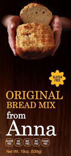 Gluten Free Bread Mix from Anna