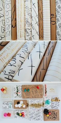 HAND-DRAWN GIFT WRAP - Hazlo tú! – Papel de regalo
