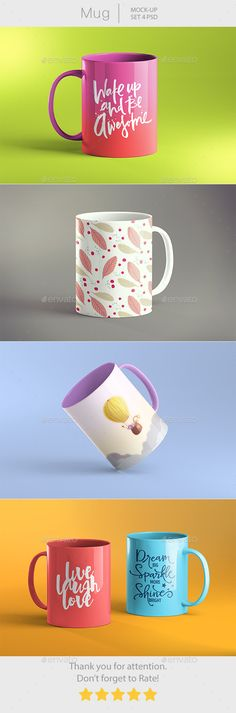 Mug Mockup by 2DsightTwo Mug Mockup. Which available in high resolution 3000×1688px. Easy change via Smart Object. Featured: �204 Different PSD�20Completely