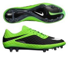 Yeşil Nike Hypervenom