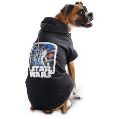 Make your dog stand out with this comfortable STAR WARS Halloween Vintage Dog Hoodie.