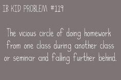 IB kid problem