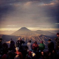Image by @adhisara in Bromo, East Java Indonesia - @earthhourofficial- #webstagram #EarthHour #Indonesia